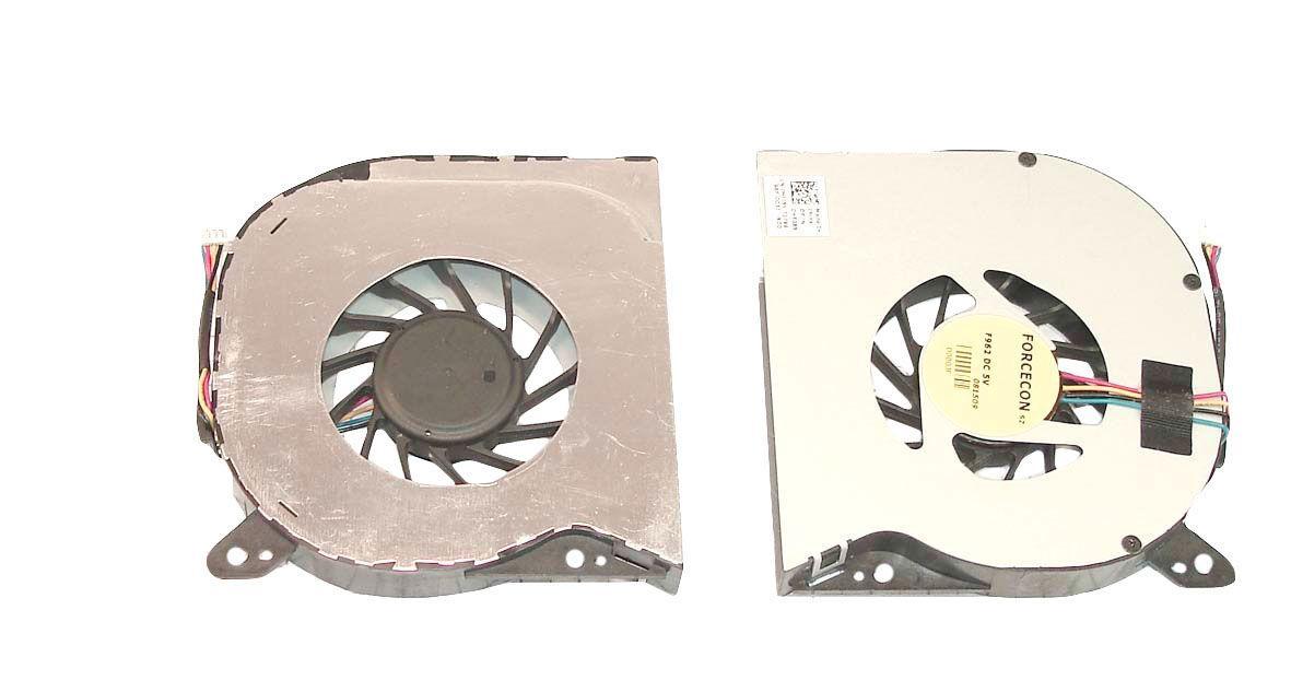 Вентилятор для ноутбука Dell Latitude E6400, E6410, E6500, E6510, M2400 VER-1, 5V 0.5A 4-pin Forcecon