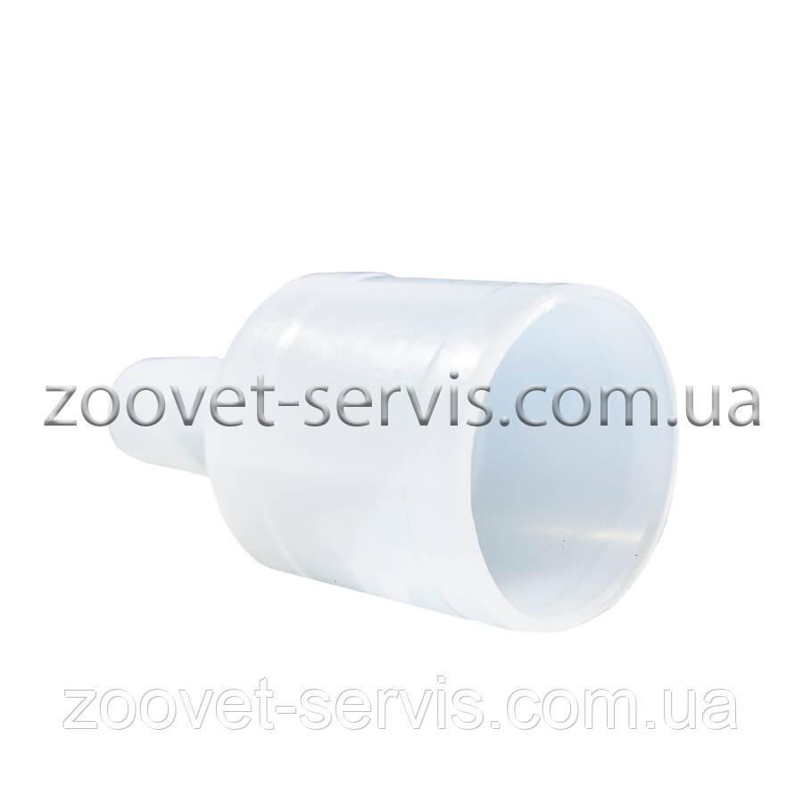 Пластиковый штуцер (25мм-10мм)