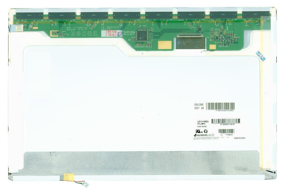 "Матрица для ноутбука 17,1"", Normal (стандарт), 30 pin  (сверху справа), 1680x1050, Ламповая (1 CCFL), без"