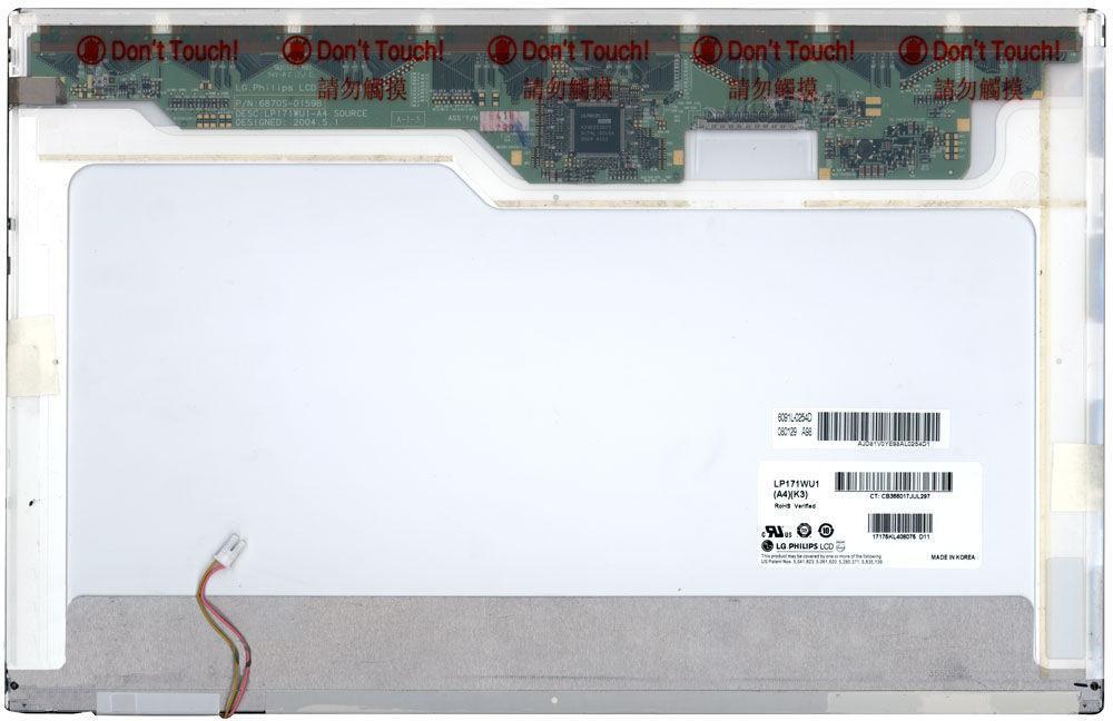 "Матрица для ноутбука 17,1"", Normal (стандарт), 30 pin (сверху справа), 1920x1200, Ламповая (1 CCFL), без"