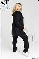 Стильный женский спортивный костюм большого размера 50 52 54 56 58 60 62 64