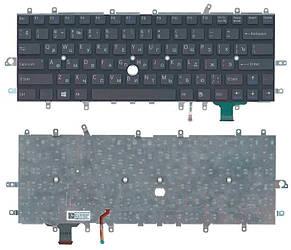 Клавиатура для ноутбука Sony Vaio (SVD11) с подсветкой (Light), Black, (No Frame), RU