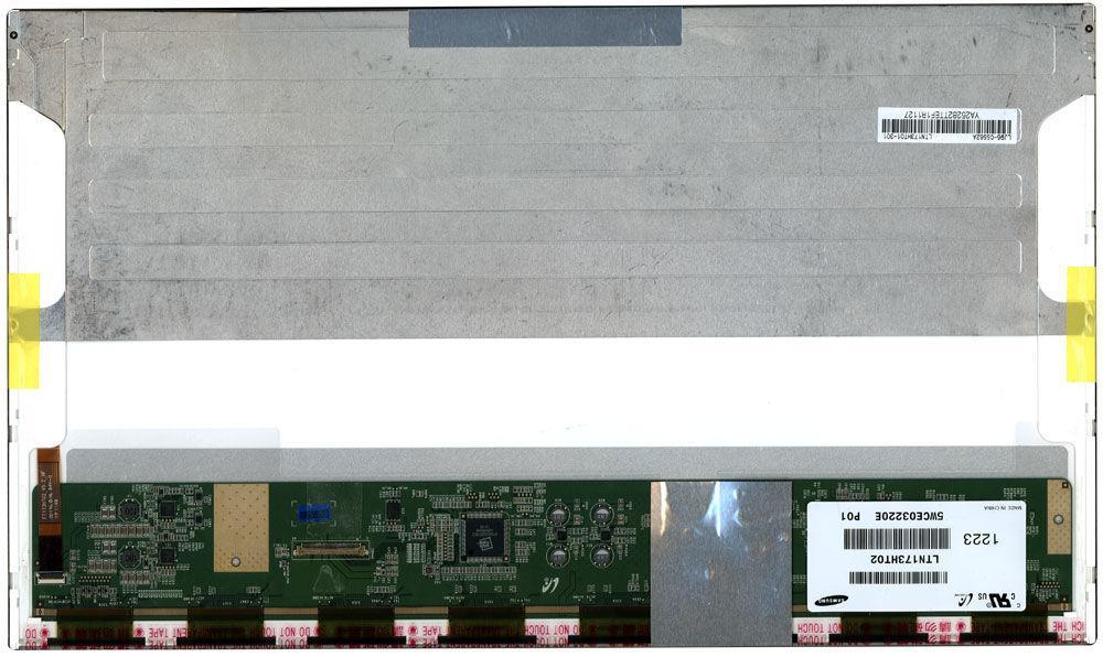 """Матриця для ноутбука 17,3"""", Normal (стандарт), 40 pin (знизу зліва) 1920x1080 Світлодіодна (LED), підтримка"""