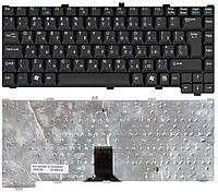 Клавиатура для ноутбука Fujitsu Amilo (M7440, M7440G, M6100) Black, RU (вертикальный энтер)