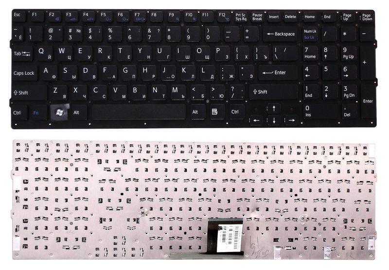 Клавиатура Sony Vaio (VPC-EС) Black, (No Frame) RU