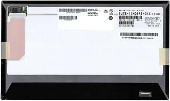 """Матрица для планшета 11,6"""", Slim (тонкая), 45 pin (снизу справа), 1366x768, Светодиодная (LED), без креплений,"""