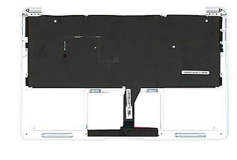 Клавиатура Apple MacBook Air 2012+ (A1465) Black с топ панелью, RU (горизонтальный энтер)