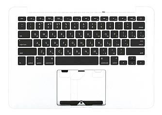 Клавиатура для ноутбука Apple MacBook Pro (A1425) Black с топ панелью, RU (горизонтальный энтер)