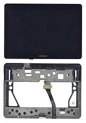 """Матрица с тачскрином (модуль) для Samsung Galaxy Tab 2 10.1"""" GT-P5100 черный с рамкой"""