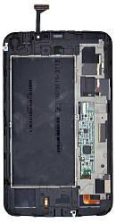 Матрица с тачскрином (модуль) для Samsung Galaxy Tab 3 7.0 SM-T211 белый с рамкой