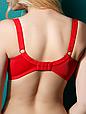 Бюстгальтер Diorella 38006D оптом, чашка D, цвет Красный, фото 4