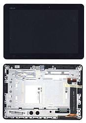 Матрица с тачскрином (модуль) для Asus MeMO Pad 10 (ME102A) V4.0 черный с рамкой. Сняты с аппаратов