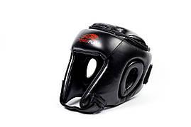 Боксерський шолом турнірний PowerPlay 3045 XL Чорний, фото 3
