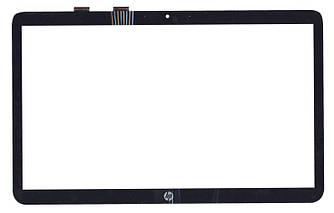 Тачскрин (Сенсорное стекло) для ноутбука HP ProBook 450 черный