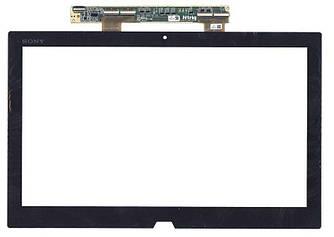 Тачскрин (Сенсорное стекло) для ноутбука Sony Vaio Duo 13 SVD1321 черный