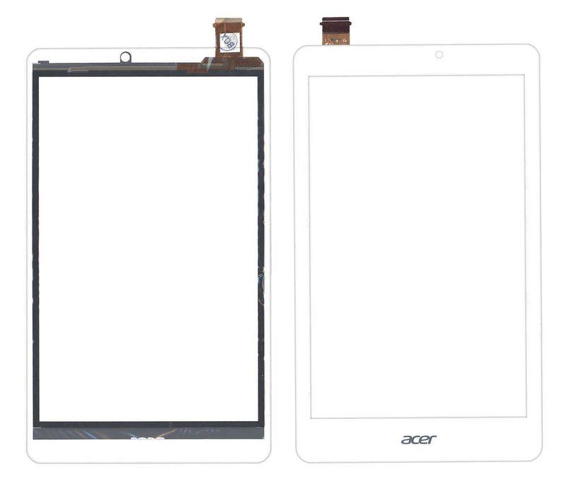 Тачскрин (Сенсорное стекло) для планшета Acer Iconia One 8 B1-810, W1-810 белое