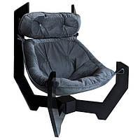 """Кресло-гамак """"Helix"""" 80х77х104 см. Цвет Серый"""