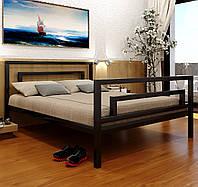 """Кровать """"Брио 2"""" Металлический каркас, С изножьем"""