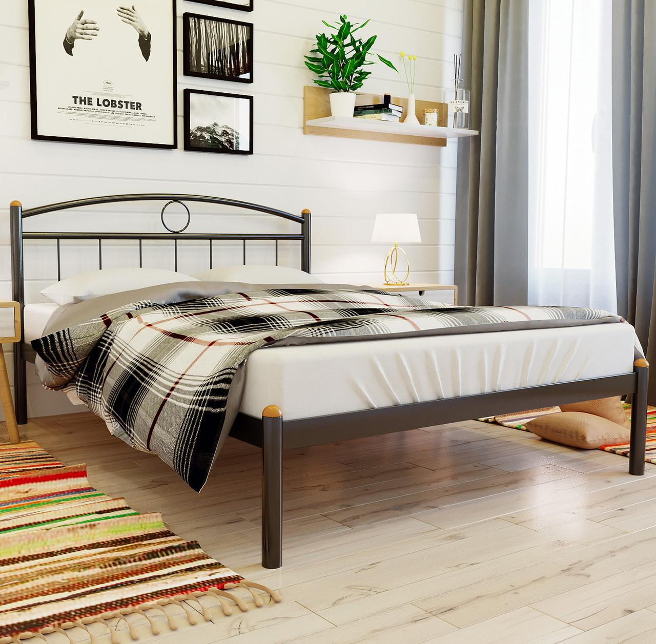 """Кровать """"Инга"""" Металлический каркас"""