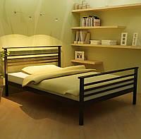 """Кровать """"Лекс 2"""" Металлический каркас, С изножьем"""