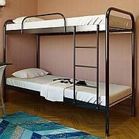 """Кровать двухъярусная """"Релакс Дуо"""" 80х190 см. Металлический каркас"""