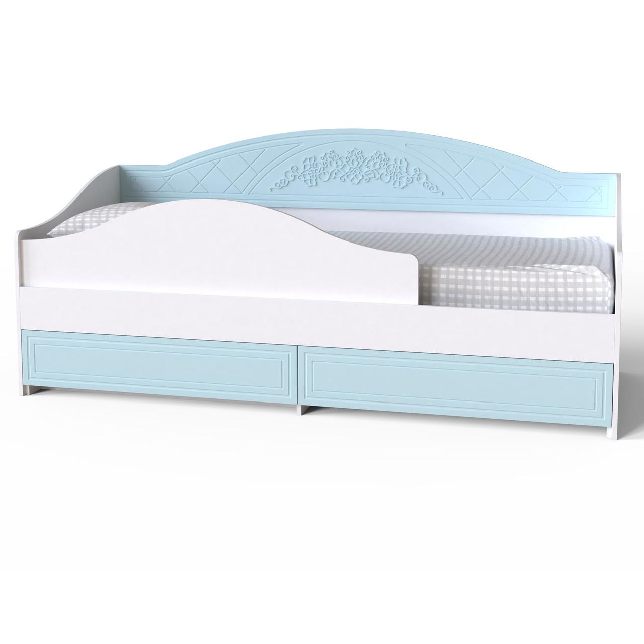 """Ліжко-тахта """"Амелі"""" 80х200 см. Блакитна лагуна"""