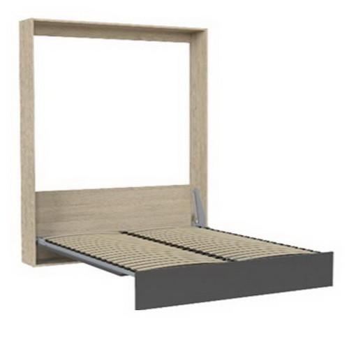 """Кровать-трансформер """"Mitra"""" 140х200 см. Дуб Сонома/Антрацит"""