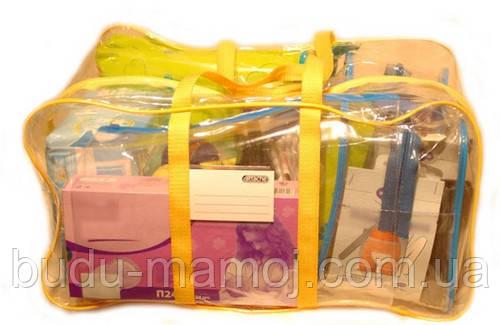 Прозора сумка на блискавці для зберігання - Велика ХХХL 60*35*30