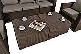 Комплект садових меблів Allibert by Keter California Grande Lounge Set Brown ( коричневий ), фото 8