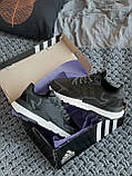 🔥 Кроссовки мужские Adidas Nite Jogger адидас найт джоггер черные повседневные спортивные рефлективные, фото 7