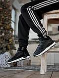 🔥 Кроссовки мужские Adidas Nite Jogger адидас найт джоггер черные повседневные спортивные рефлективные, фото 9