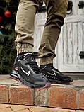 🔥 Кроссовки мужские Nike Air Max 2090 Neymar найк эир макс черные повседневные спортивные рефлективные, фото 4