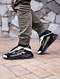 🔥 Кроссовки мужские Nike Air Max 2090 Neymar найк эир макс черные повседневные спортивные рефлективные, фото 3