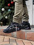 🔥 Кроссовки мужские Nike Air Max 2090 Neymar найк эир макс черные повседневные спортивные рефлективные, фото 10