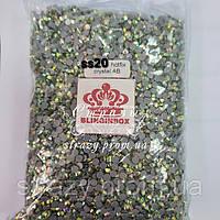 Термо стразы Blinginbox ss20 Crystal AB 100gross pack (5.0mm) 14000шт