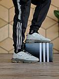 🔥 Кроссовки мужские Adidas Ozweego Celox адидас озвиго целокс серые светлые повседневные спортивные легкие, фото 4