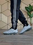 🔥 Кроссовки мужские Adidas Ozweego Celox адидас озвиго целокс серые светлые повседневные спортивные легкие, фото 5