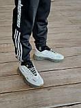 🔥 Кроссовки мужские Adidas Ozweego Celox адидас озвиго целокс серые светлые повседневные спортивные легкие, фото 7