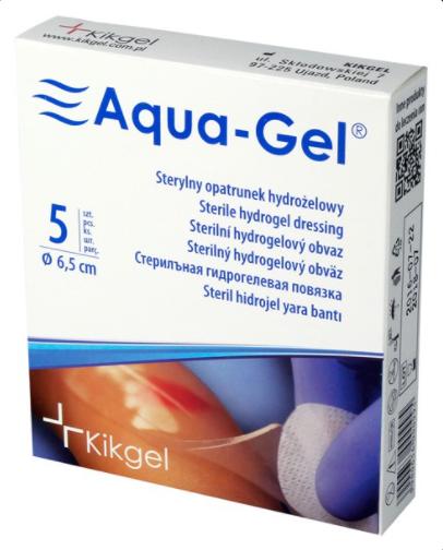 Aqua-Gel (10x12) - Гидрогелевая повязка, квадрат (10х12см)