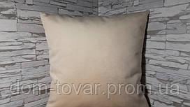 Подушка декоративная 40х40 ваниль