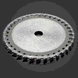 Пильный диск по дереву с твердосплавными напайками   85x10x1.7 36 зубов ., фото 5