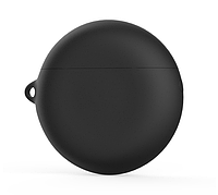 Чехол-накладка DK Silicone Candy Friendly с карабином для Huawei FreeBuds 3 (black)