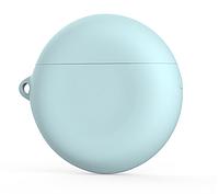 Чехол-накладка DK Silicone Candy Friendly с карабином для Huawei FreeBuds 3 (mint)