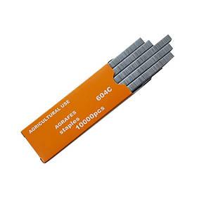 Скоби для тапенера 6x4 мм 604C (1 уп. = 10000 шт.)