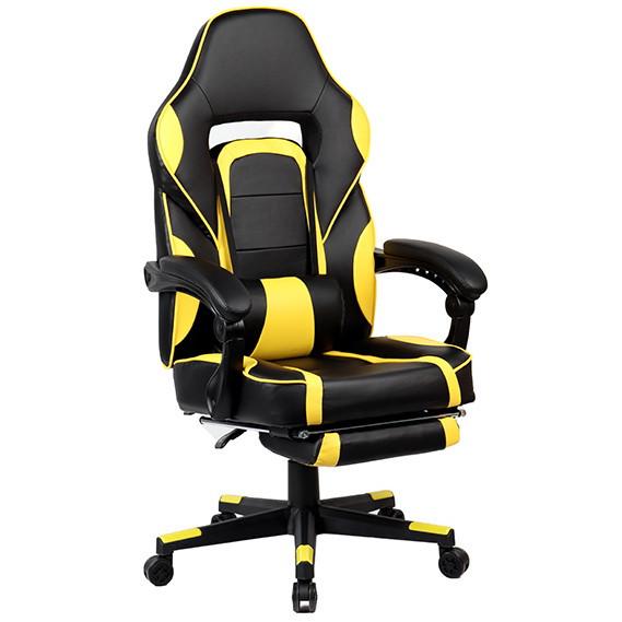 """Кресло компьютерное """"Parker-2"""" Черно/Желтый"""
