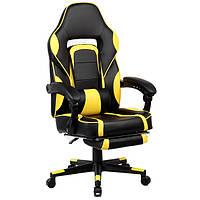"""Кресло компьютерное """"Parker-2"""" Черно/Желтый, фото 1"""