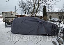 Тент водостійкий автомобільний 440см * 185см * 155см. (M) з підкладкою, в сумці. Польша.