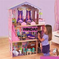 Кукольный домик.Домик для кукол+лифт.Игровой кукольный домик.Домик для кукол барби.