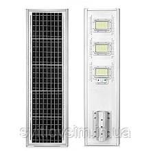 Вуличний світильник - 180 W на сонячних батареях з датчиком руху