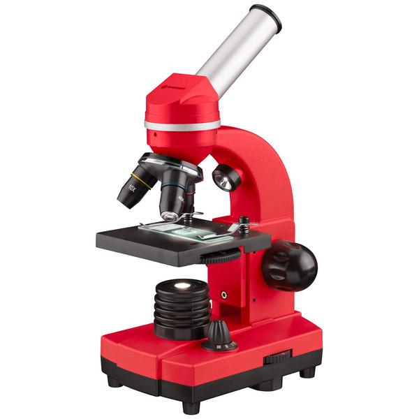 Микроскоп Bresser Biolux SEL 40x-1600x Red (смартфон-адаптер)